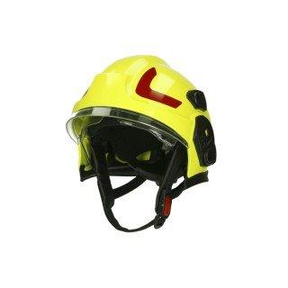 Hełm DRAGON HT 05, osłona karku Nomex, kolor Hi-Vis Lumi